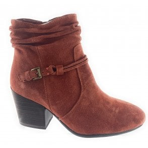 25055-33  Suede Ankle Boot