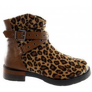 Marco Tozzi 25070-33 Leopard Print Ankle Boot