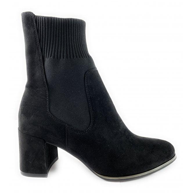 Marco Tozzi 25352-23 Black Stretch Sock Boot
