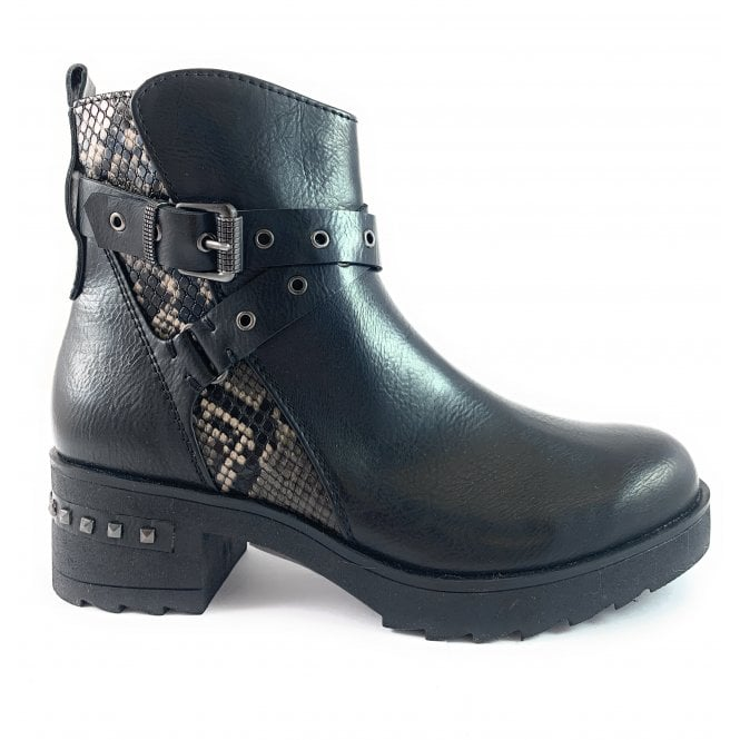 Marco Tozzi 25434-33 Black Ankle Boot