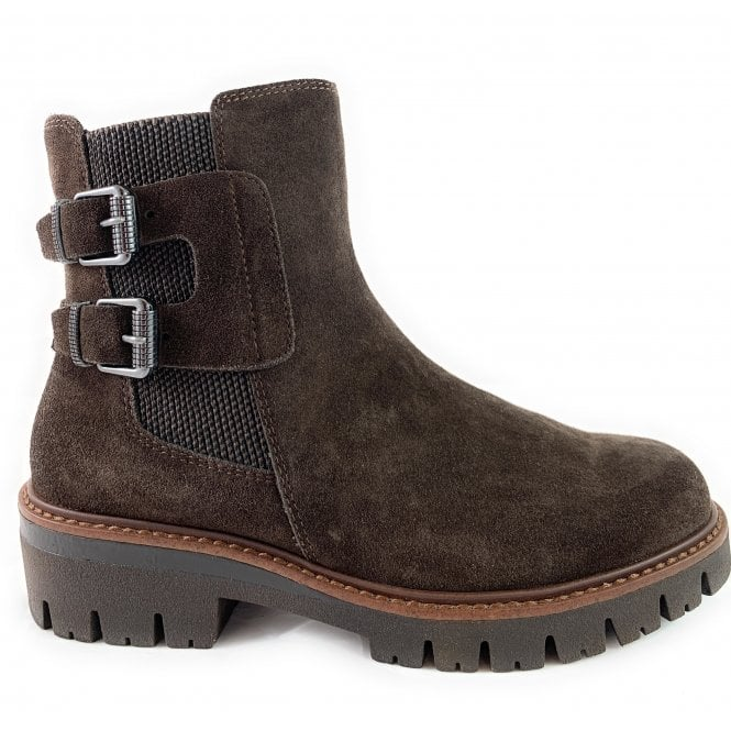 Marco Tozzi 25442-23 Brown Suede Casual Ankle Boot