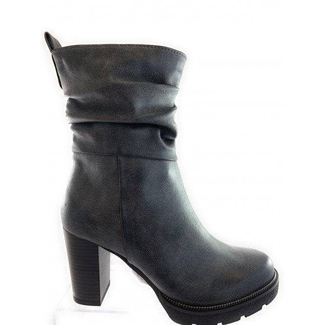 Marco Tozzi 25467-23 Dark Grey Ankle Boot