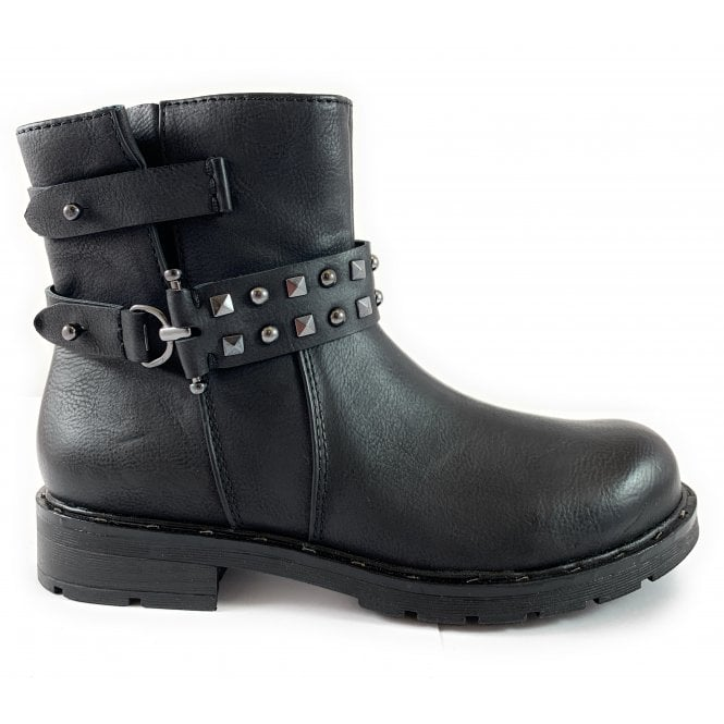 Marco Tozzi 25470-23 Black Ankle Boot