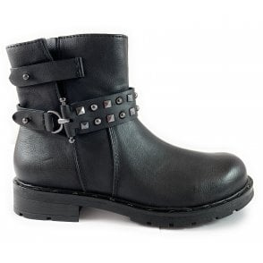 25470-23 Black Ankle Boot