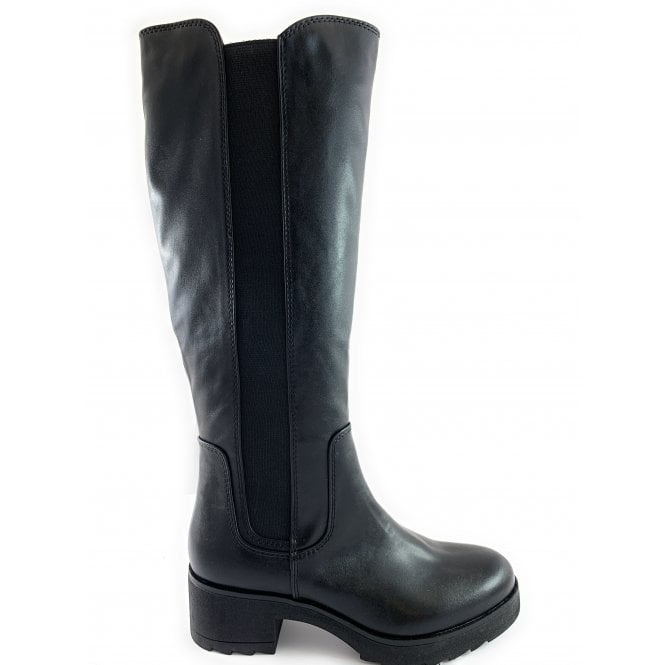 Marco Tozzi 25606-23 Black Knee-High Boot
