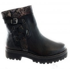 25845-33 Black Ankle Boot