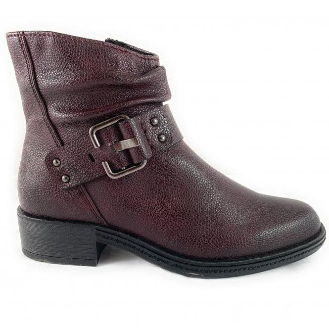 Marco Tozzi 25851-33 Bordeaux Ankle Boot