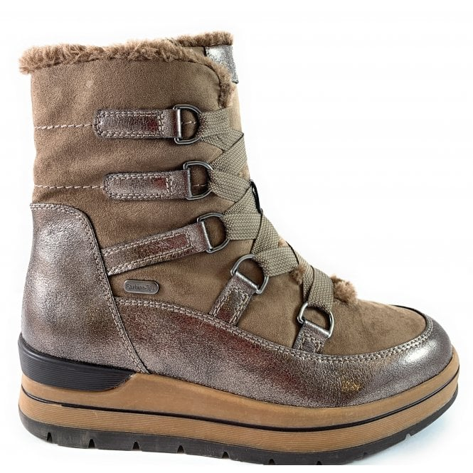 Marco Tozzi 26717-33 Taupe Winter Boot