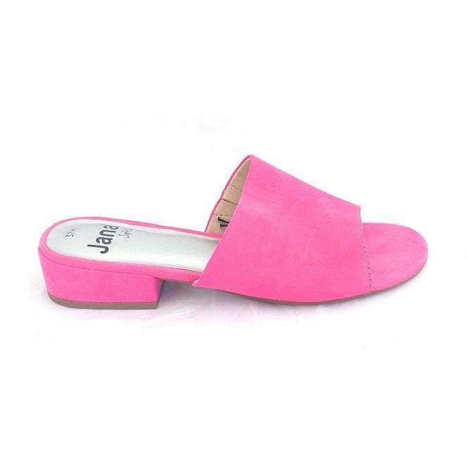 Jana 27260 Pink Microfibre Mule