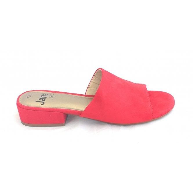 Jana 27260 Red Microfibre Mule