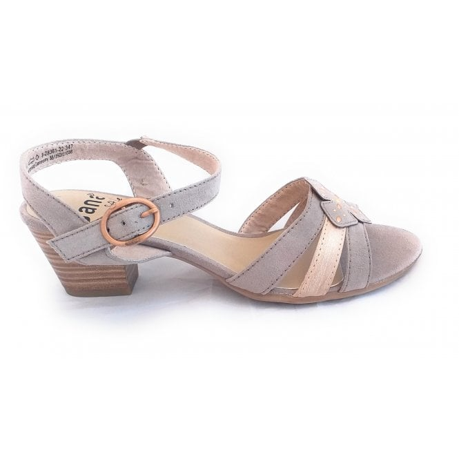 Jana 28361 Light Taupe Sandal