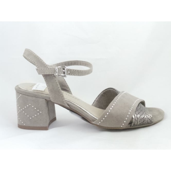 Marco Tozzi 28382 Ala Light Grey Open-Toe Sandal