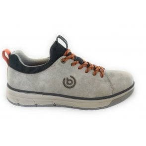 321-A5L60 Pyro Beige Leather Casual Lace-Up Shoes
