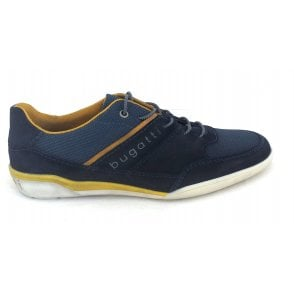 323-46514 Lake Navy Suede Trainers
