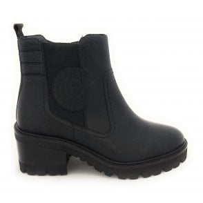 411-A4R31 Tai Black Leather Boots