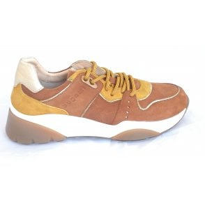 412-97403 Hanni Light Brown Trainers