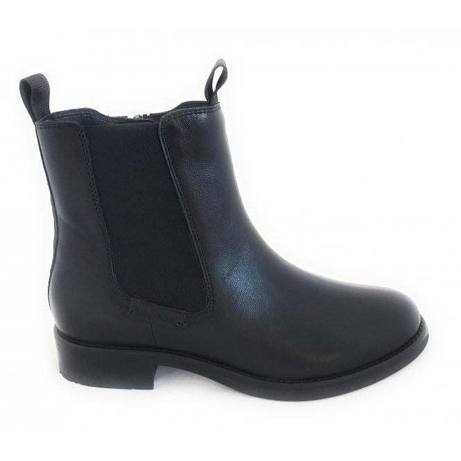 Bugatti 413-99836 Sinja Black Leather Chelsea Boots