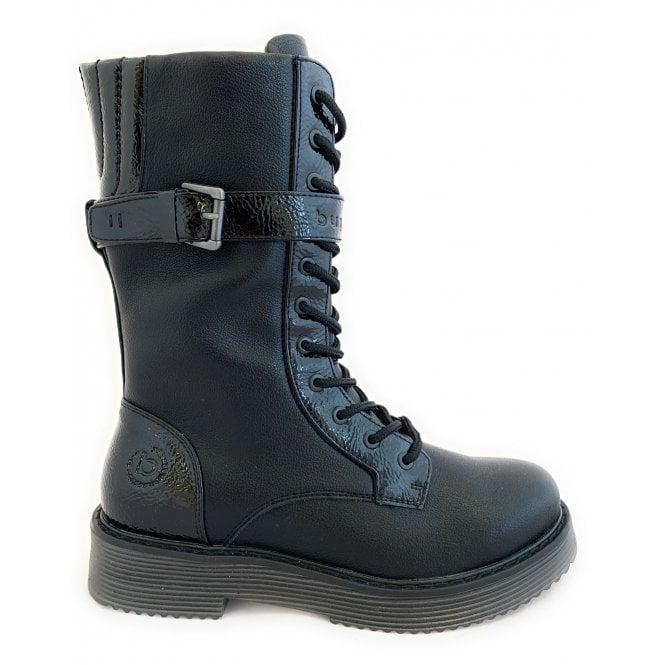 Bugatti 431-5493K Neria Black Leather Boots