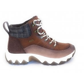 431-A0031 Yuki Water Resistant Brown Casual Boots