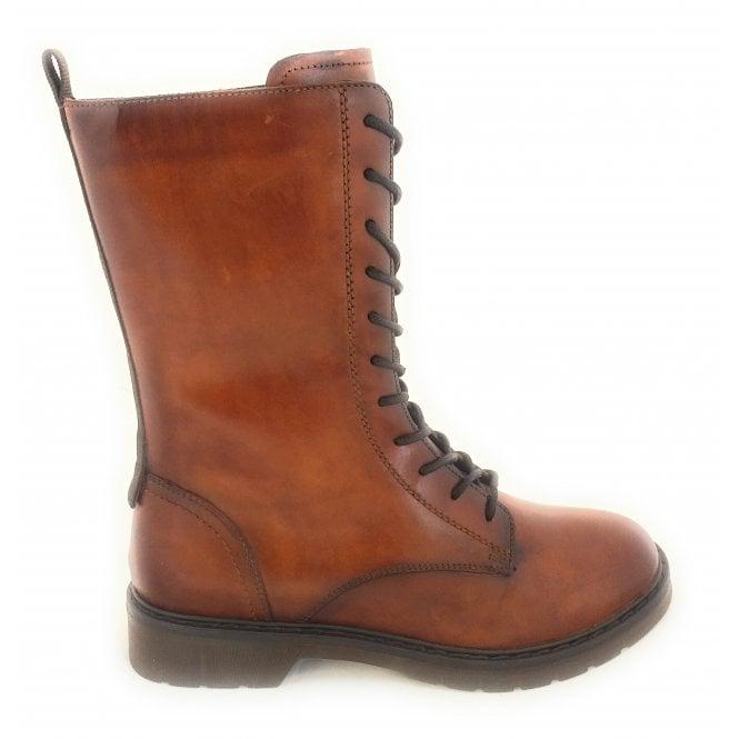 Bugatti 431-A4633 Modena Tan Leather Boots