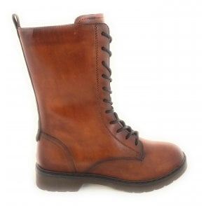 431-A4633 Modena Tan Leather Boots