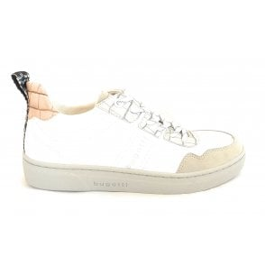 432-87709 Elea Light Grey and White Trainers