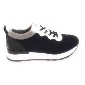 432-A4303 Safia Revo Black Trainers