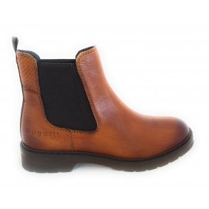 432-A4631 Modena Tan Leather Chelsea Boots