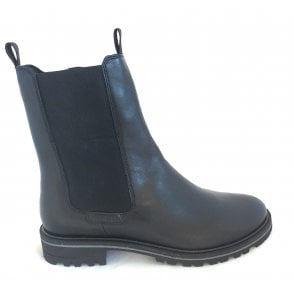 433-5495G Neria Black Leather Chelsea Boots
