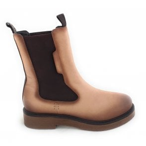 433-5495G Neria Light Brown Leather Chelsea Boots
