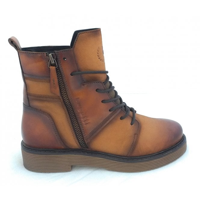 Bugatti 433-5495H Neria Tan Leather Casual Boots