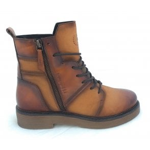 433-5495H Neria Tan Leather Casual Boots