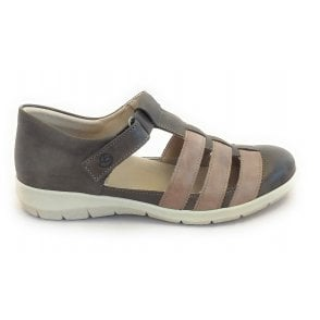6621 Oxford Brown Casual Shoe