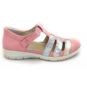 6622 Oxford Pink Casual Shoe