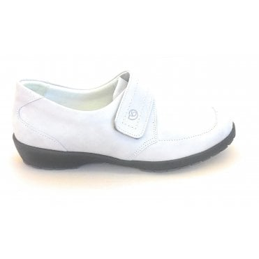 8010T London Ivory Leather Casual Shoe