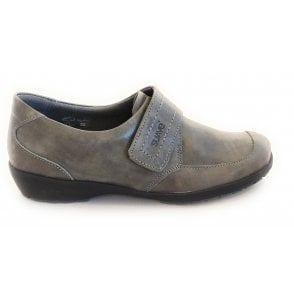 8010T London Taupe Leather Casual Shoes