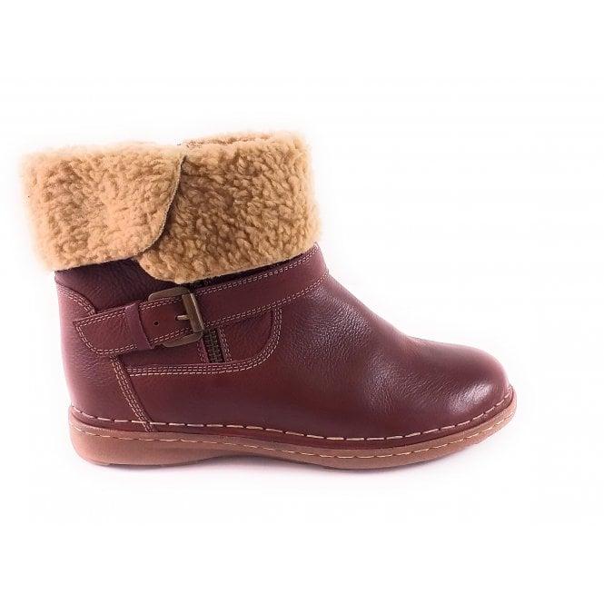 Lotus Ali Bordo Leather Ankle Boot