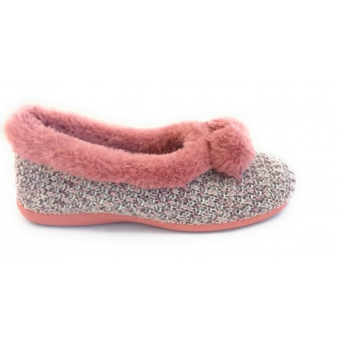 Lotus Alice Pink Slippers