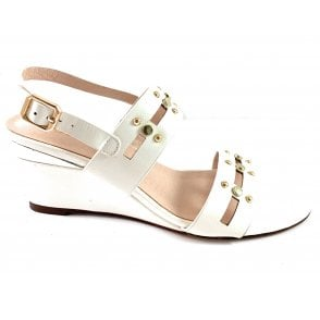 Alice White Crinkle Patent Wedge Sandal