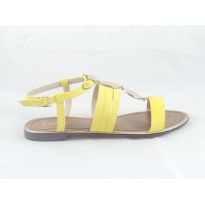 Alpine Yellow Gladiator Sandal