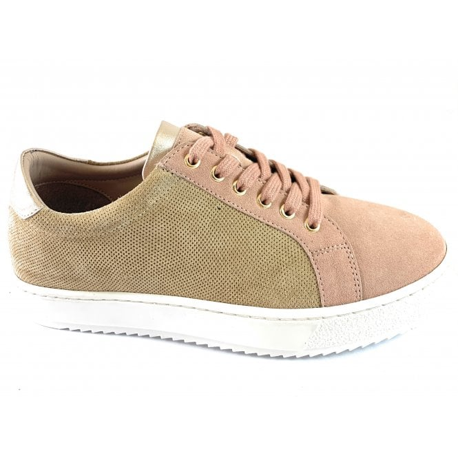 Lotus Amsterdam Natural and Pink Leather Casual Shoe