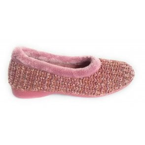 Anouk Pink Knitted Slipper
