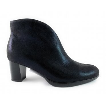 12-13492 Orly HighSoft Black Print Ankle Boot