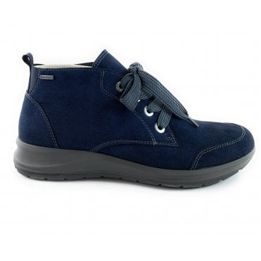 12-49819 Tokio Navy Gore-Tex Lace-Up Boot