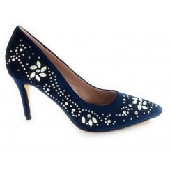 Avalina Navy Court Shoe