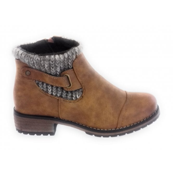 cc53f8d97 Lotus Ayla Tan Ankle Boot - Lotus from size4footwear.com UK