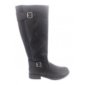 Beal Black Knee High Boot