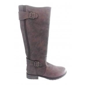 Beal Brown Knee High Boot