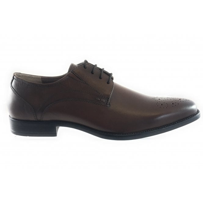 Lotus Birkdale Men's Brown Leather Lace-Up Shoe