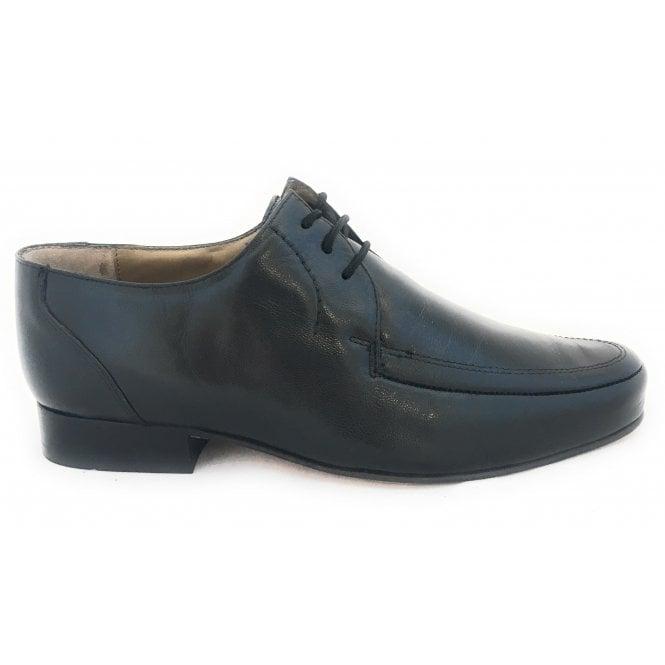 Black Leather Lace-Up Men's Formal Shoe